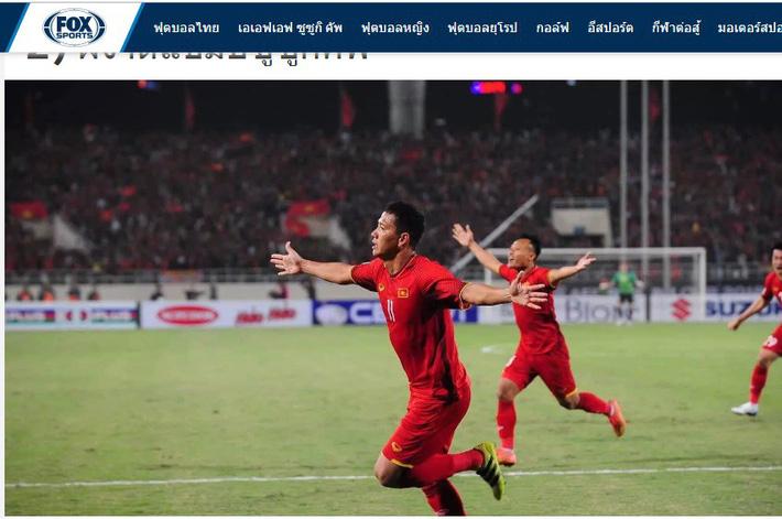 Báo Thái Lan chóng ngợp trước cảnh tượng biển người Việt Nam sau chiến thắng AFF Cup 2