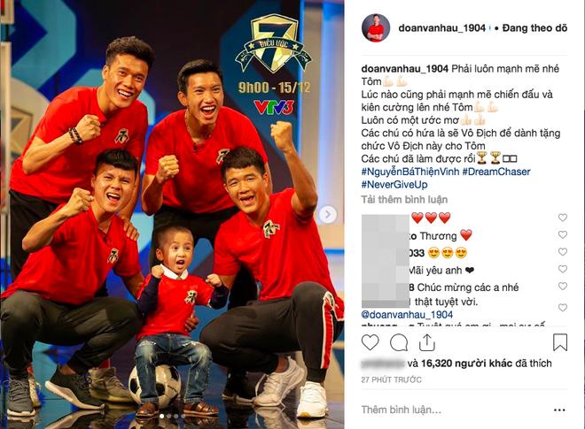 Nghẹn ngào dòng status của Quang Hải, Văn Hậu sau chiến thắng tại AFF Cup  1