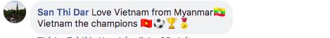 Việt Nam đánh bại Malaysia, dân mạng nước ngoài hết lời khen ngợi và chúc mừng tân quán quân AFF Cup 2018 9