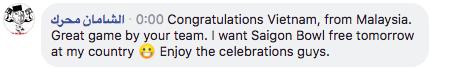 Việt Nam đánh bại Malaysia, dân mạng nước ngoài hết lời khen ngợi và chúc mừng tân quán quân AFF Cup 2018 12