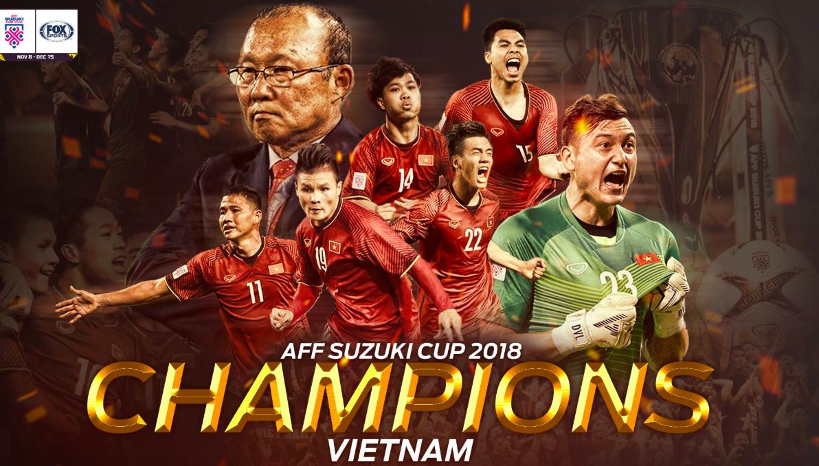 Việt Nam đánh bại Malaysia, dân mạng nước ngoài hết lời khen ngợi và chúc mừng tân quán quân AFF Cup 2018 1