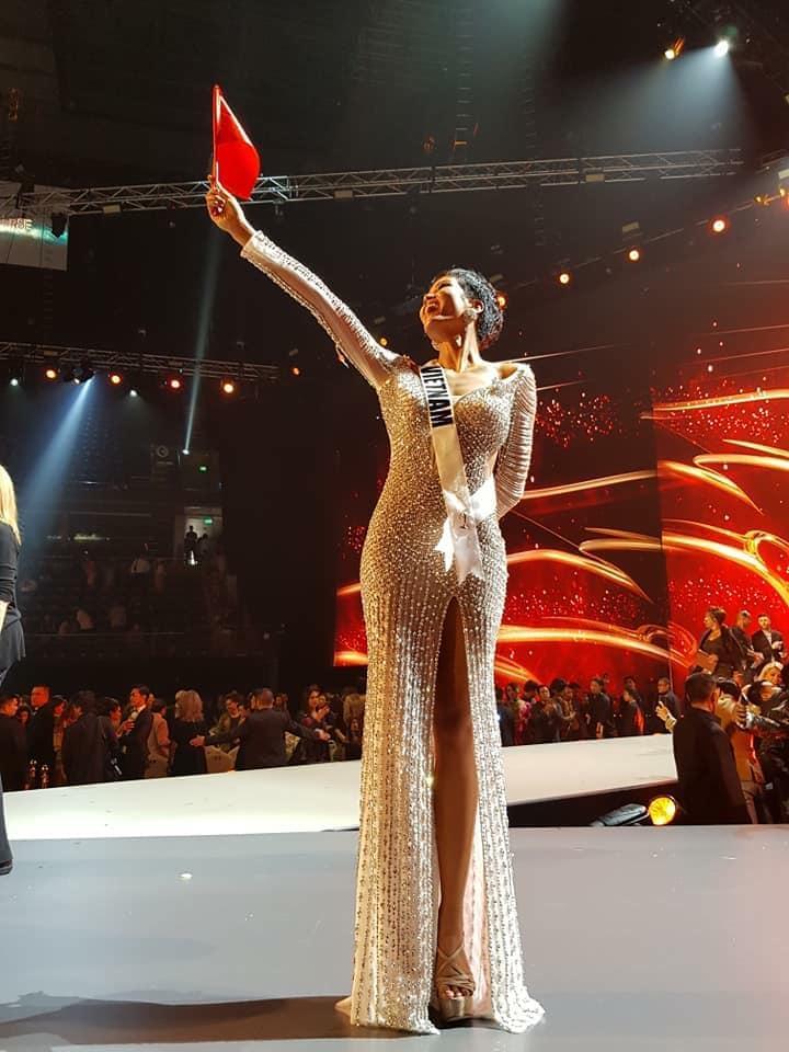 Động thái đầu tiên của H'Hen Niê sau khi lọt Top 5 Miss Universe 2018 2