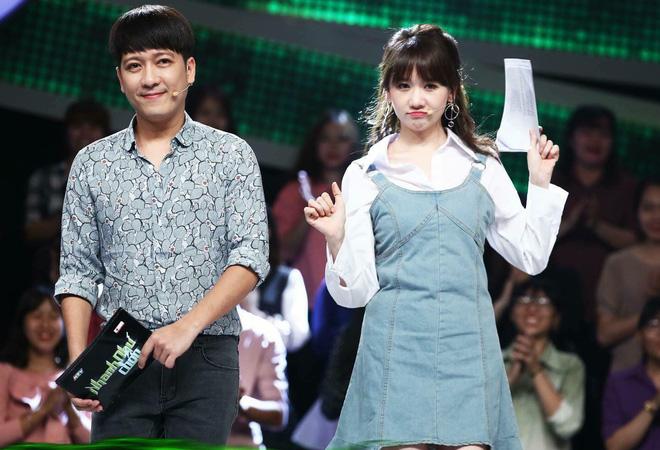 Trường Giang kém duyên hay xấu tính trong cách va chạm với Hari Won? 1