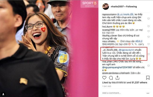Bạn gái Quang Hải ở đâu khi người yêu cùng ĐT Việt Nam giành ngôi vô địch? 1