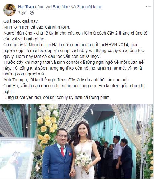 Tiết lộ danh tính và tài sản khủng của chồng người đẹp Nguyễn Thị Hà 1