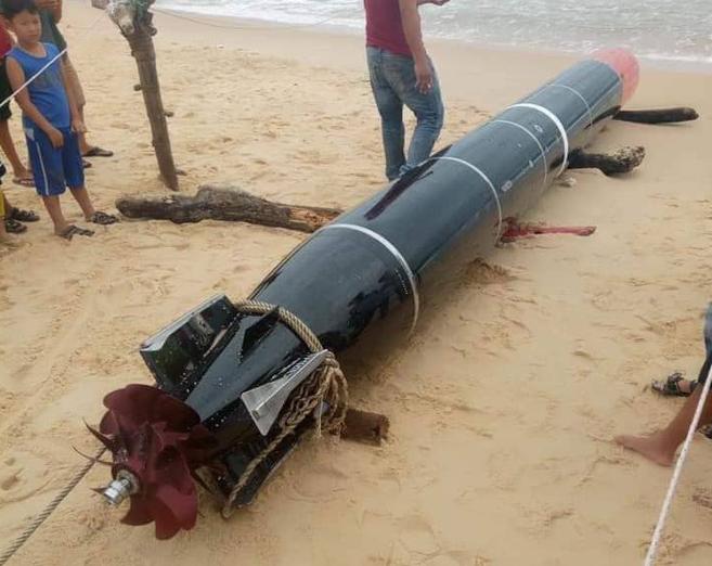 Lãnh đạo Bộ Quốc phòng nói gì về vật thể lạ dạt vào bờ biển Phú Yên? 1