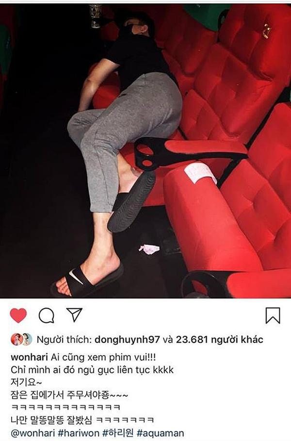 Đi xem phim, Trấn Thành làm chuyện bất ngờ này khiến Hari Won tức giận bóc phốt 1