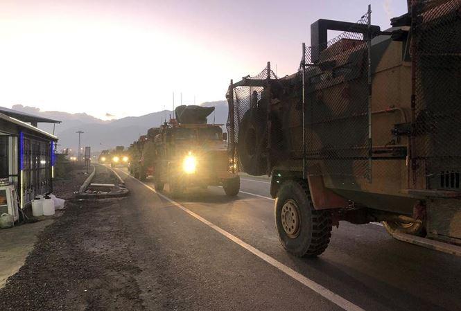 Thổ Nhĩ Kỳ bất ngờ đưa quân đến biên giới Syria 1