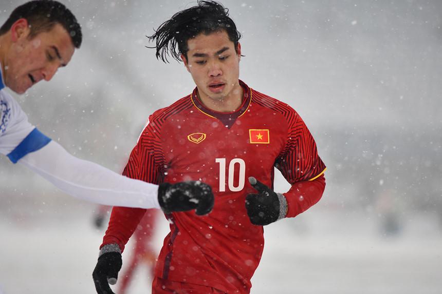 Nhìn lại những hình ảnh thăng hoa của Bóng đá Việt Nam trong năm 2018 5
