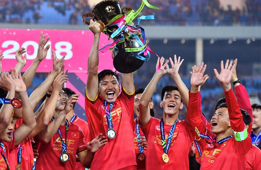 Nhìn lại những hình ảnh thăng hoa của Bóng đá Việt Nam trong năm 2018 11