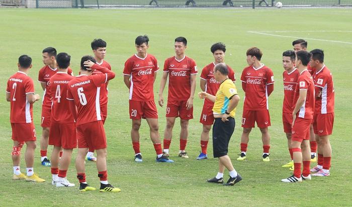 Lý do HLV Park Hang-seo loại 4 cầu thủ khỏi tuyển Việt Nam trước Asian Cup 2019  1