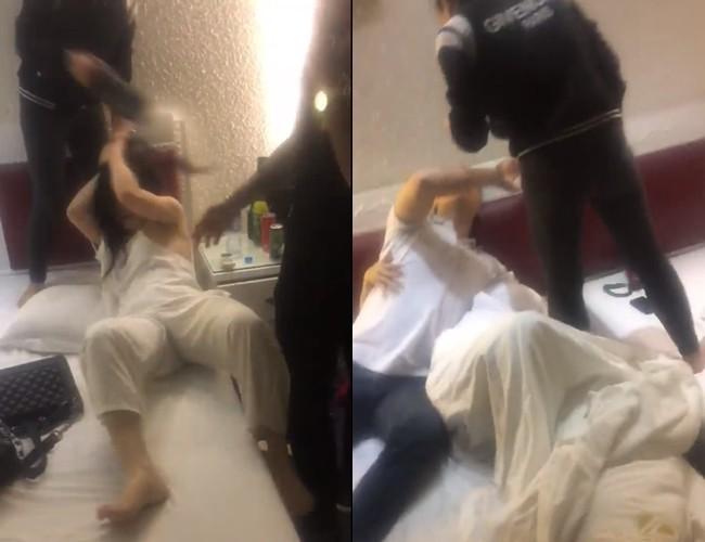 Hình ảnh Cô gái lên tiếng sau clip xách giày đánh ghen 2 nữ nhân ở khách sạn với chồng mình số 1