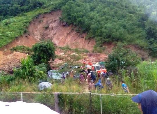 Mưa lớn gây sạt lở, 3 người chết ở Khánh Hòa 1
