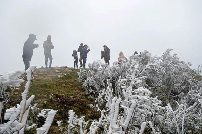 Nhiệt độ dưới 0 độ C, Mẫu Sơn phủ trắng băng tuyết  3