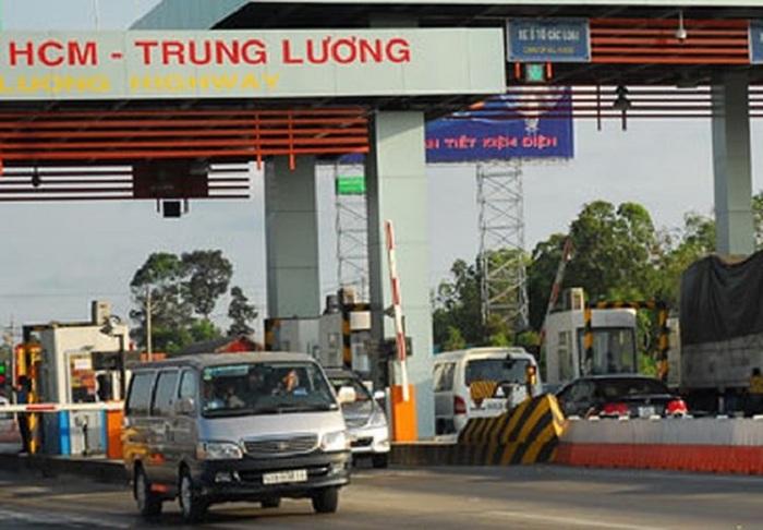 Từ ngày 1/1/2019, Cao tốc TP HCM-Trung Lương chính thức tạm dừng thu phí 1