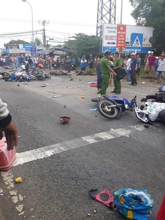 Tai nạn giao thông tại Long An: 2 người chết, 5 người bị thương trong đợt nghỉ Tết Dương 1