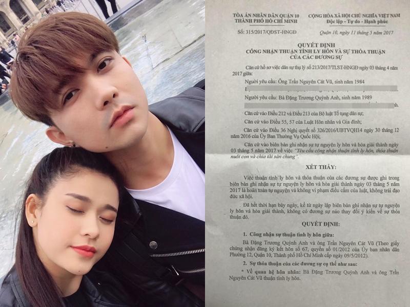 Những cặp đôi gây ồn ào chấn động showbiz Việt khi công khai ly hôn trong năm 2018 2