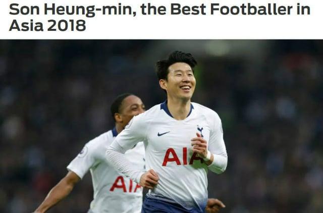 Son Heung Min là cầu thủ hay nhất Châu Á, Quang Hải lọt top 15 1