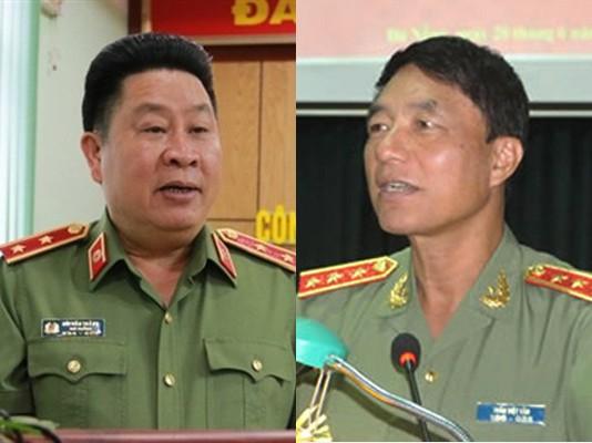 Hình ảnh Truy tố hai cựu tướng công an Trần Việt Tân và Bùi Văn Thành số 1