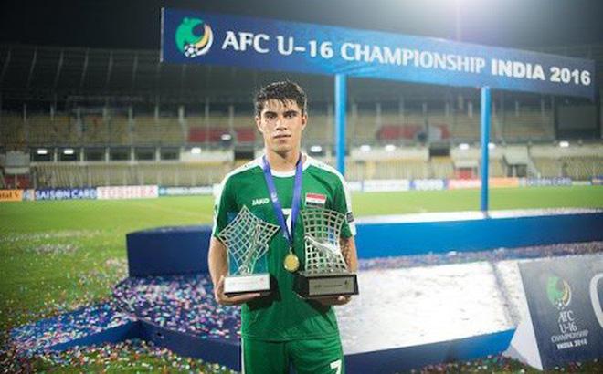 Asian Cup: Lộ diện chiến binh 18 tuổi Iraq là mối đe dọa của Đặng Văn Lâm 1