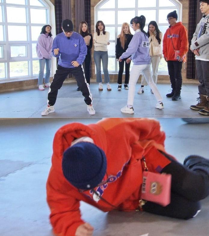 Running Man tập 433: Lee Kwang Soo gây bất ngờ khi phải mặc đồ con heo đi phát thú bông cho người trên đường 2