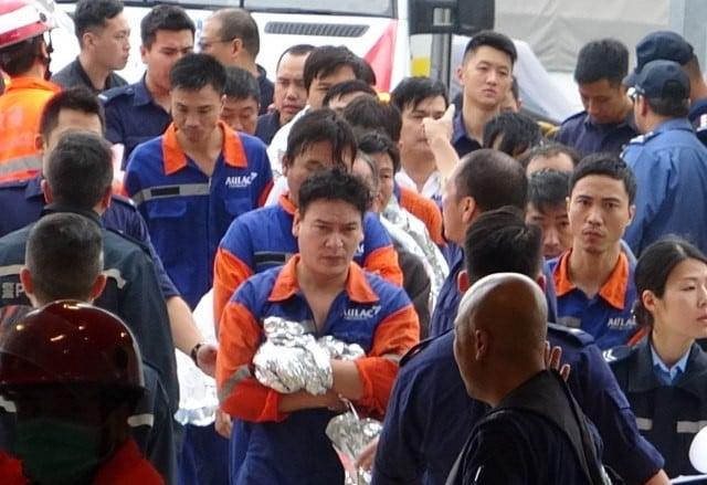Tàu chở dầu treo cờ Việt Nam bốc cháy ngoài khơi Hong Kong, 1 người thiệt mạng và 3 người mất tích 3