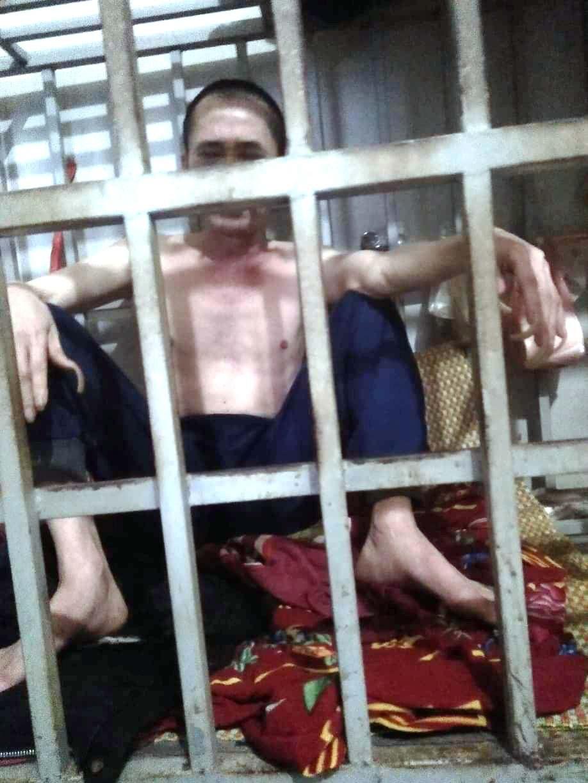 Hình ảnh Cận cảnh chiếc lồng sắt bà vợ ở Thanh Hóa dùng để nhốt chồng suốt 3 năm số 2