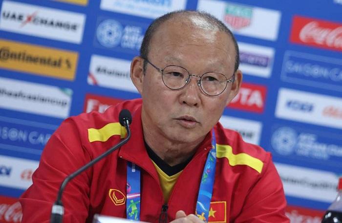 Hình ảnh Thua Iran 2-0, HLV Park Hang-seo vẫn tự hào về các cầu thủ tuyển Việt Nam số 1