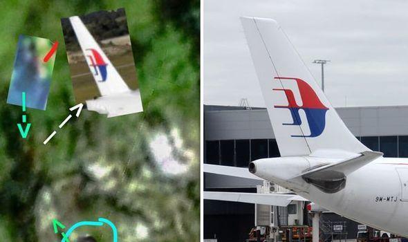 """Hình ảnh Mảnh vỡ máy bay được tìm thấy """"xé toạc"""" màn bí ẩn sau sự mất tích của MH370? số 1"""