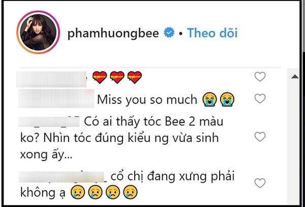Hình ảnh Phạm Hương tung ảnh cận mặt mới, dân mạng khẳng định cô vừa sinh xong chỉ vì 1 chi tiết số 2