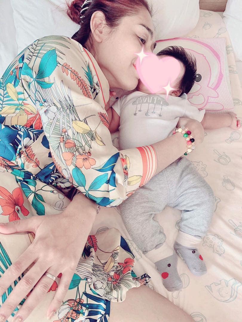 Hình ảnh Lâm Khánh Chi bất ngờ tiết lộ tên con trai đầu lòng trong buổi kỉ niệm 1 năm ngày cưới số 5