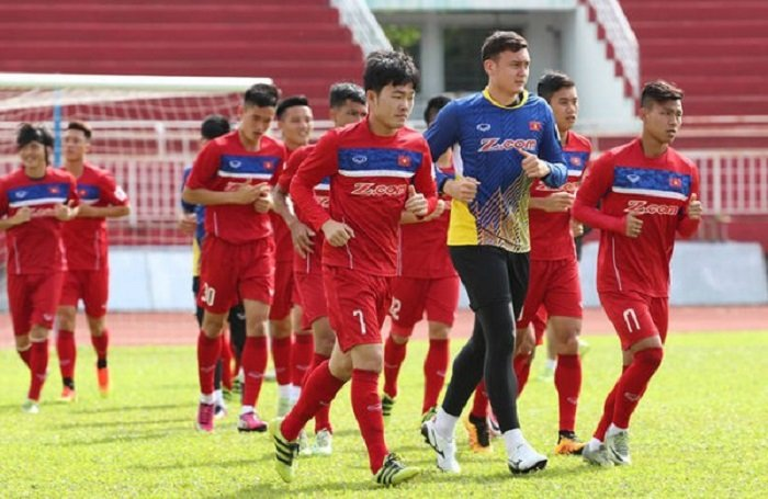 Hình ảnh Đội hình dự kiến của tuyển Việt Nam đấu Jordan: Duy Mạnh trở lại số 1