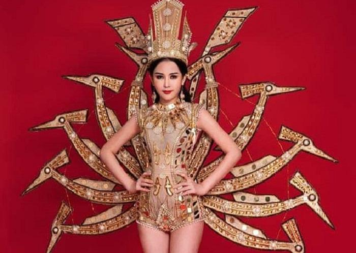 Giải trí - Lê Âu Ngân Anh thất bại với trang phục dân tộc tại Miss Intercontinental 2018