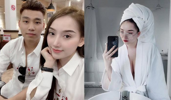 Giải trí - Vừa về nước, Văn Thanh đưa bạn gái siêu vòng 1 đi  nghỉ dưỡng ở khách sạn 5 sao