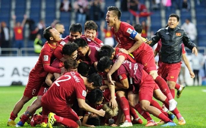 Hình ảnh Điều duy nhất chỉ có đội tuyển Việt Nam làm được ở tứ kết Asian Cup số 1