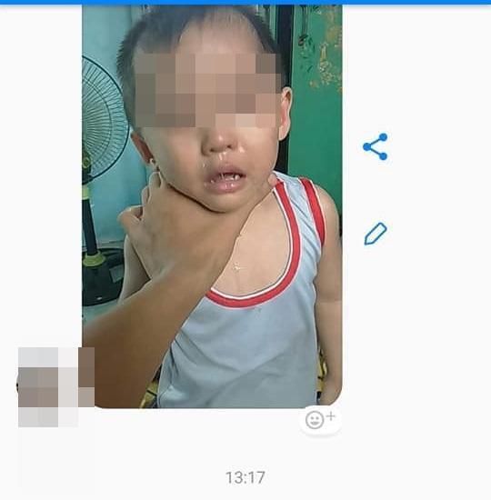 Vợ bỏ nhà đi vì bạo hành, chồng liền mang hai con nhỏ ra đánh đập dã man uy hiếp vợ 3