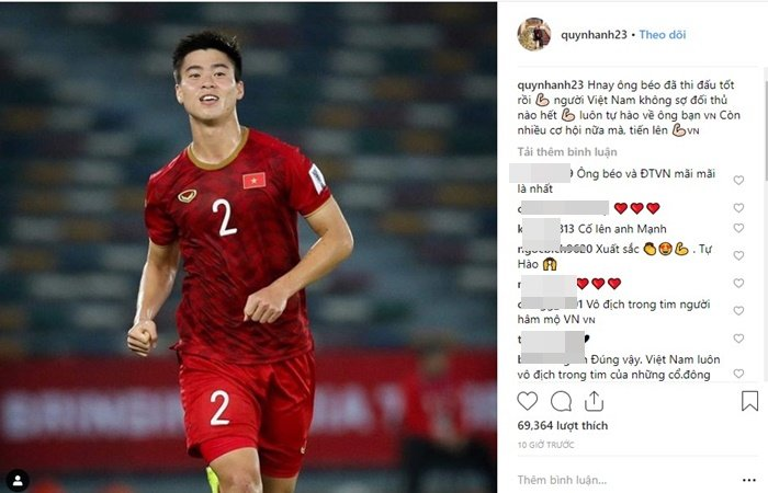Quỳnh Anh bất ngờ dùng cách đặc biệt an ủi Duy Mạnh khi vừa kết thúc trận đấu 1