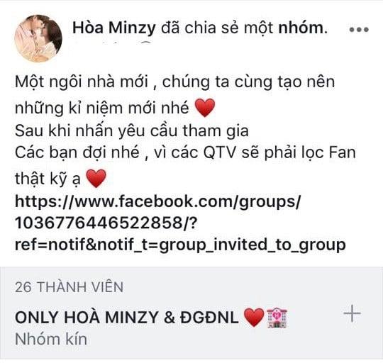 Hòa Minzy tiếp tục gây sốc với cuộc đại