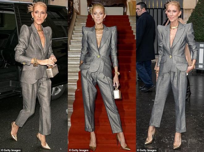 Fan ngỡ ngàng không nhận ra nữ ca sĩ Celine Dion: Thân hình trơ xương, khuôn mặt đầy nếp nhăn  3