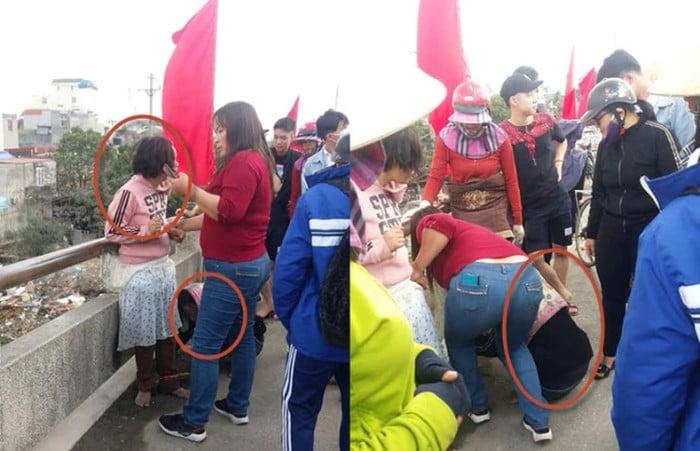 Hải Phòng: Người phụ nữ tốt bụng giải cứu bé gái bị mẹ xích chân bắt đi xin tiền để đánh đề 1