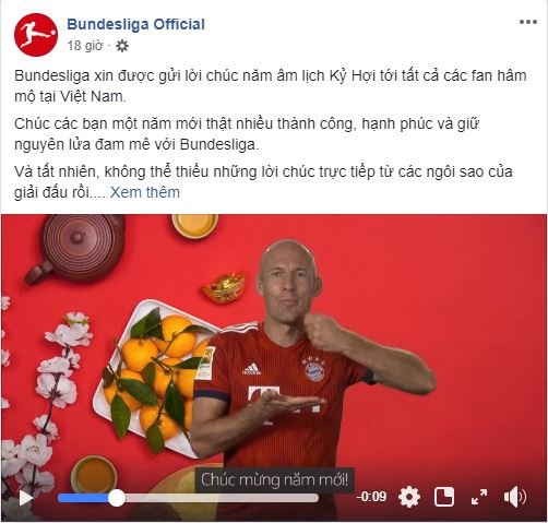 Hình ảnh CLB bóng đá hàng đầu thế giới gửi lời chúc Tết đến Việt Nam số 1
