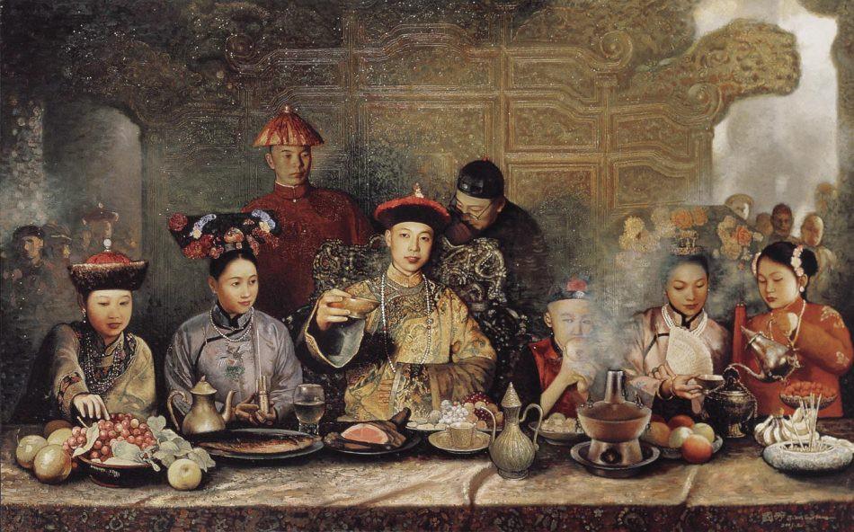 Phong tục đón Tết Nguyên Đán bên trong Tử Cấm Thành của các vị vua nhà Thanh 6