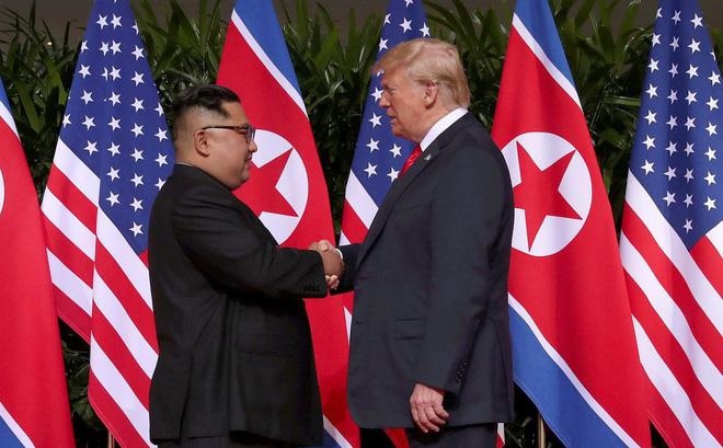 Hình ảnh Thượng đỉnh Trump - Kim tại Hà Nội dự kiến thông qua hiệp ước hòa bình số 1