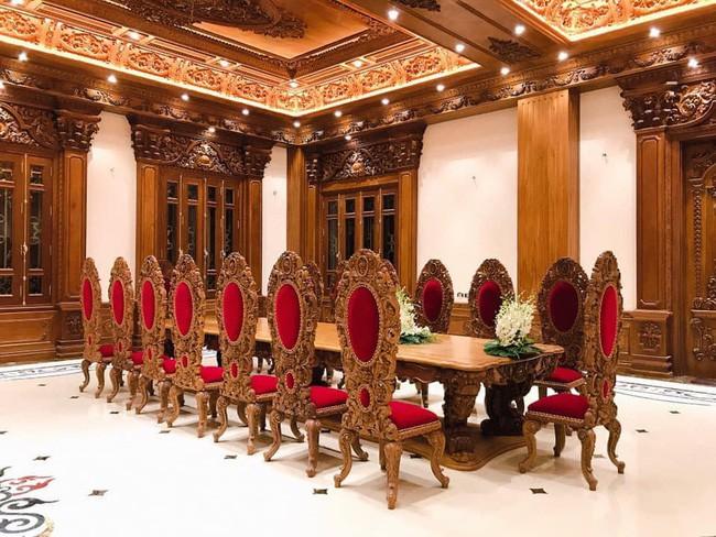 Rò rỉ hình ảnh xa hoa bên trong lâu đài 7 tầng của gia đình cô dâu xinh đẹp nổi tiếng Nam Định - Ảnh 9.
