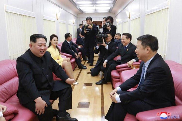 Tiết lộ về đoàn tàu bí ẩn có thể chở Kim Jong Un tới Việt Nam 2