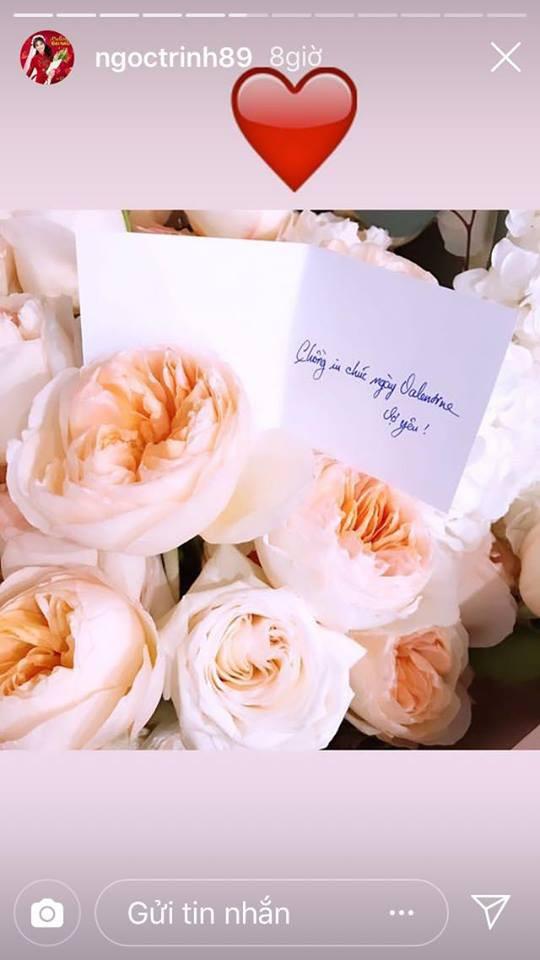 Ngọc Trinh háo hức khoe quà khủng ngày valentine của bạn trai lớn tuổi, dân mạng lại thi nhau ghen tị 2