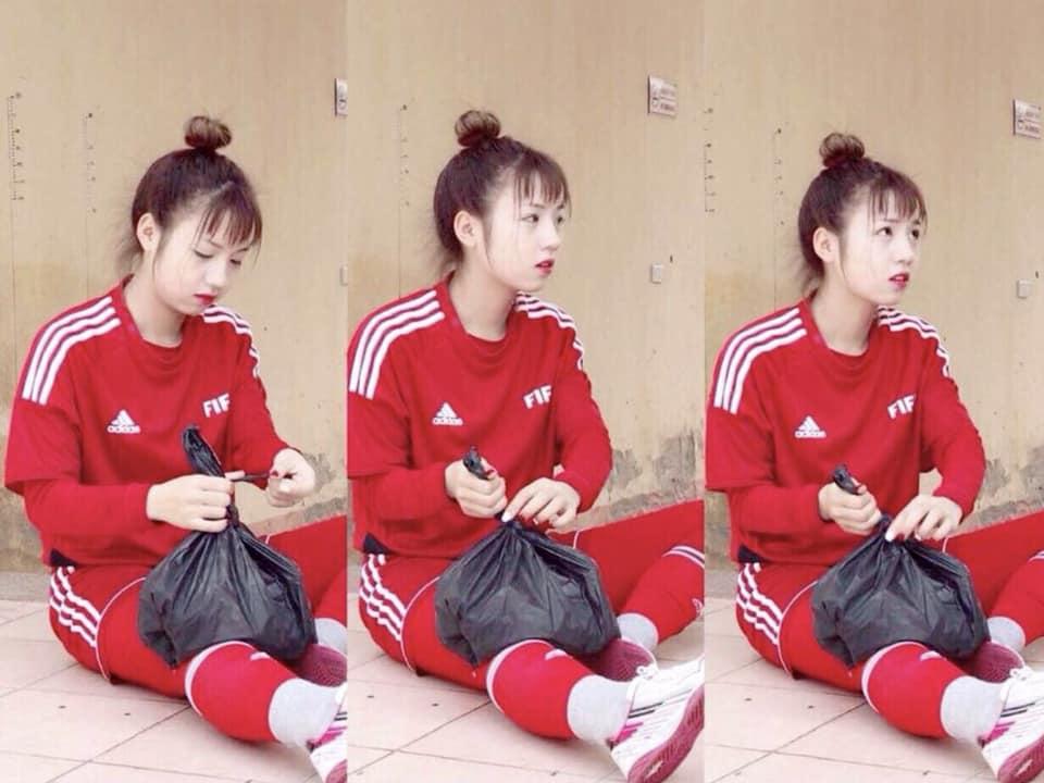 Chân dung nữ cầu thủ xinh đẹp nhất bóng đá nữ Việt Nam gây bão MXH 2