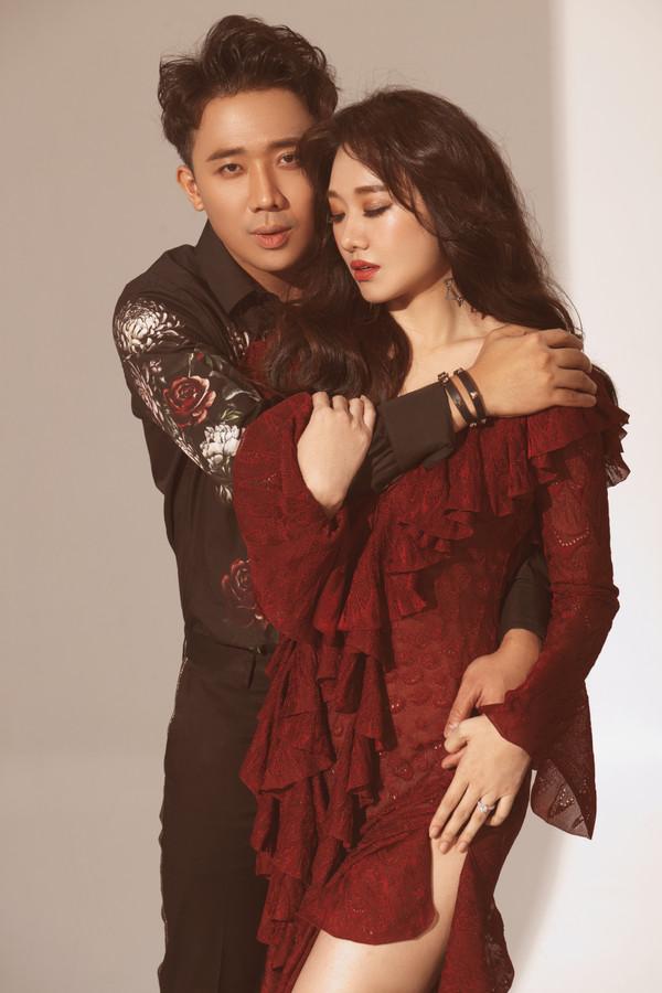 Trấn Thành - Hari Won bất ngờ tung bộ ảnh 'tình bể bình' đúng ngày Valentine 2
