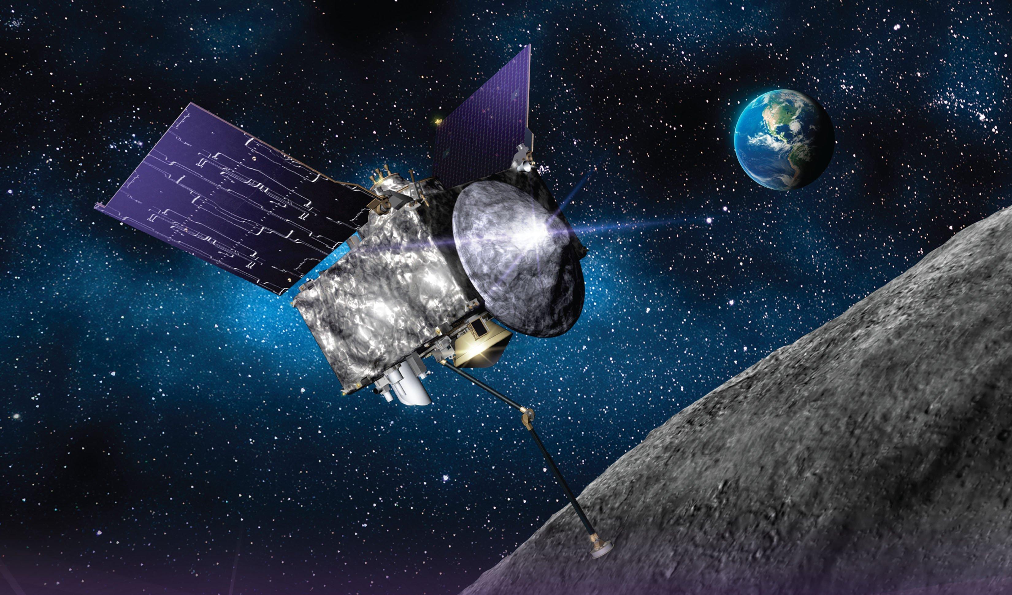 Tàu vũ trụ NASA. Ảnh: NASA