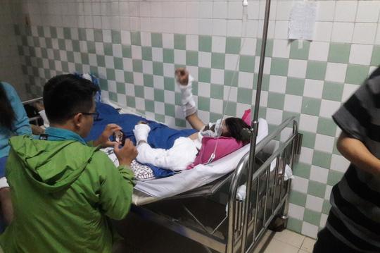 Lời kể kinh hoàng của Việt kiều bị tạt axit, cắt gân chân trong 20 giây ở Quảng Ngãi 1